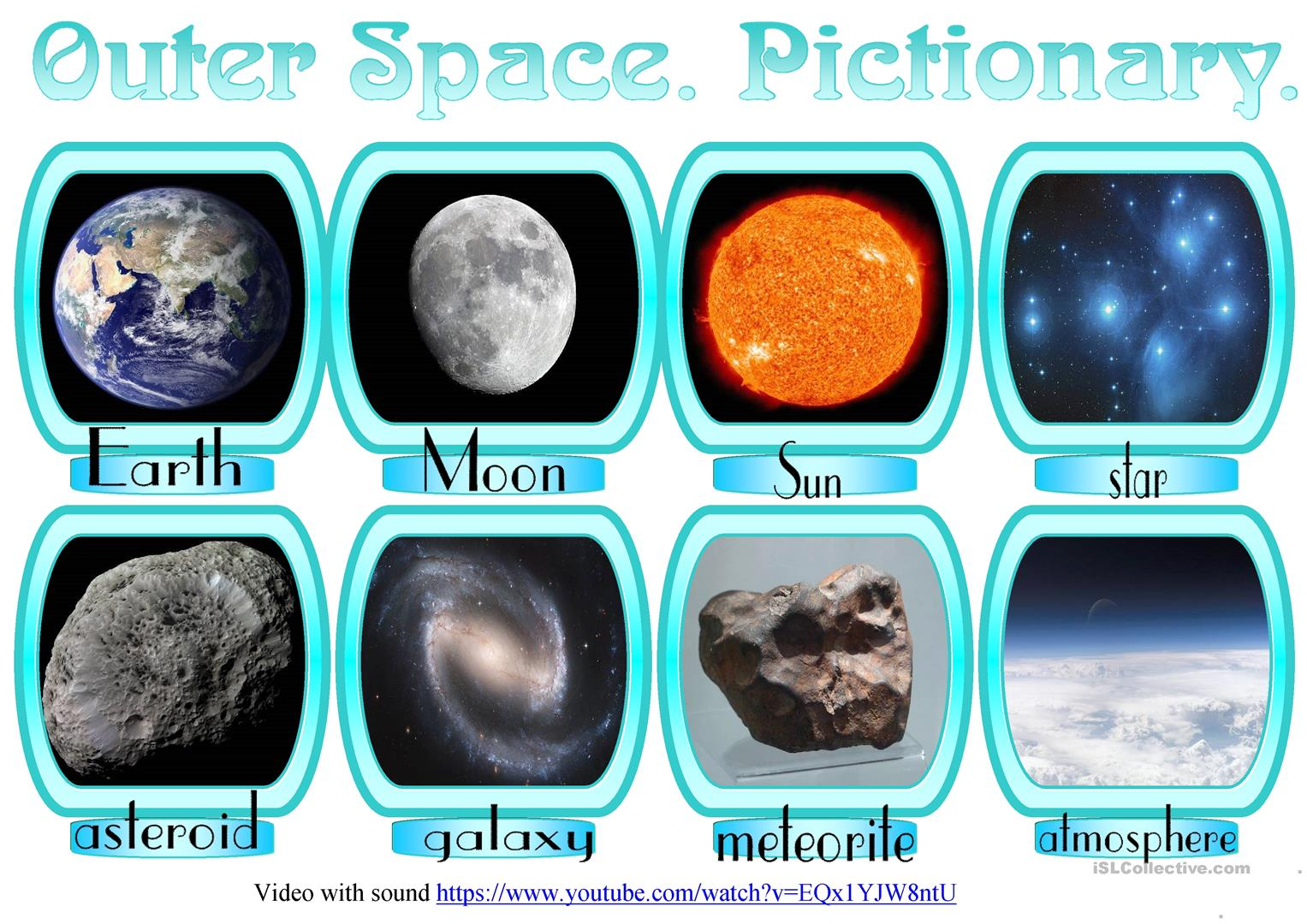 Outer Space Pictionary