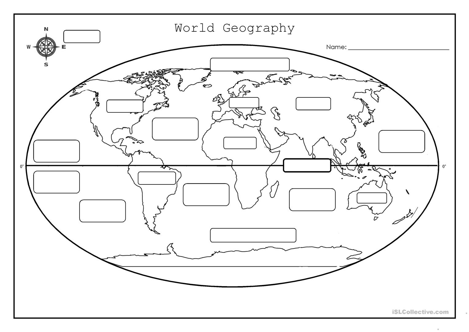 hight resolution of 34 World Geography Worksheet Answers - Worksheet Project List