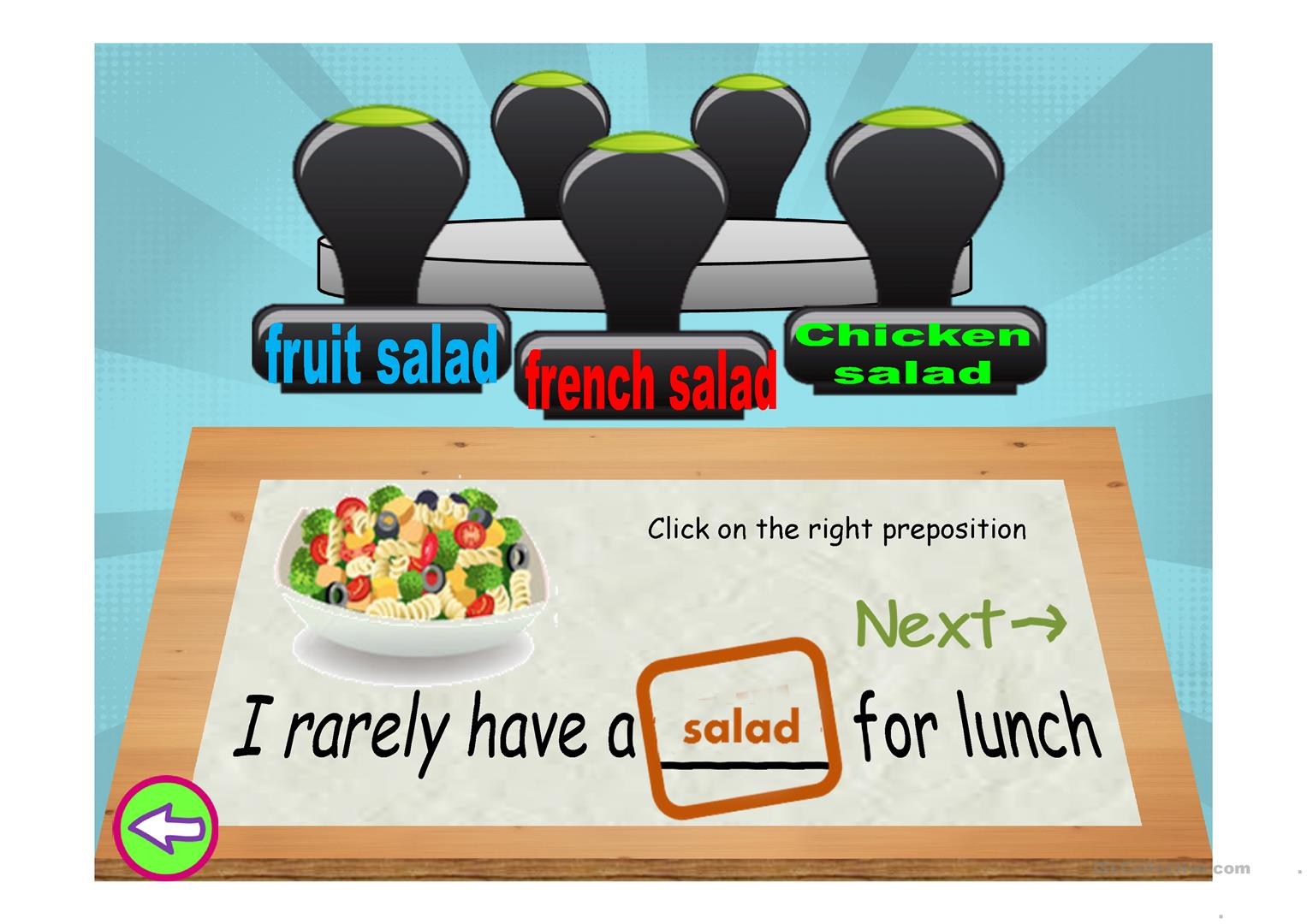 Adverbs Of Frequency And Fast Food Worksheet