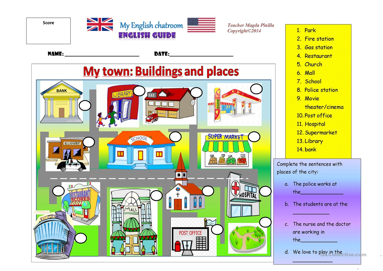My Town Places And Buildings