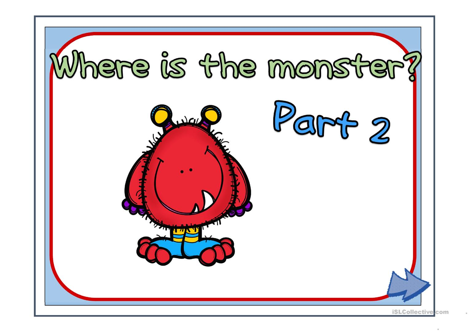 Where Is The Monster Part 2
