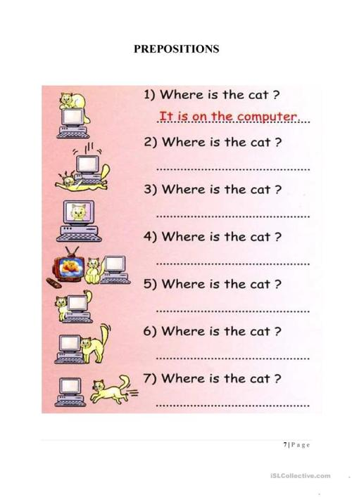 small resolution of Preposition Worksheet Ks2   Printable Worksheets and Activities for  Teachers