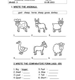 animals - English ESL Worksheets for distance learning and physical  classrooms [ 1079 x 763 Pixel ]