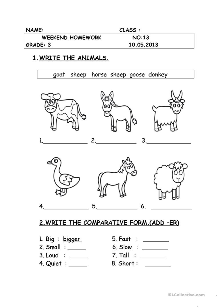 medium resolution of animals - English ESL Worksheets for distance learning and physical  classrooms