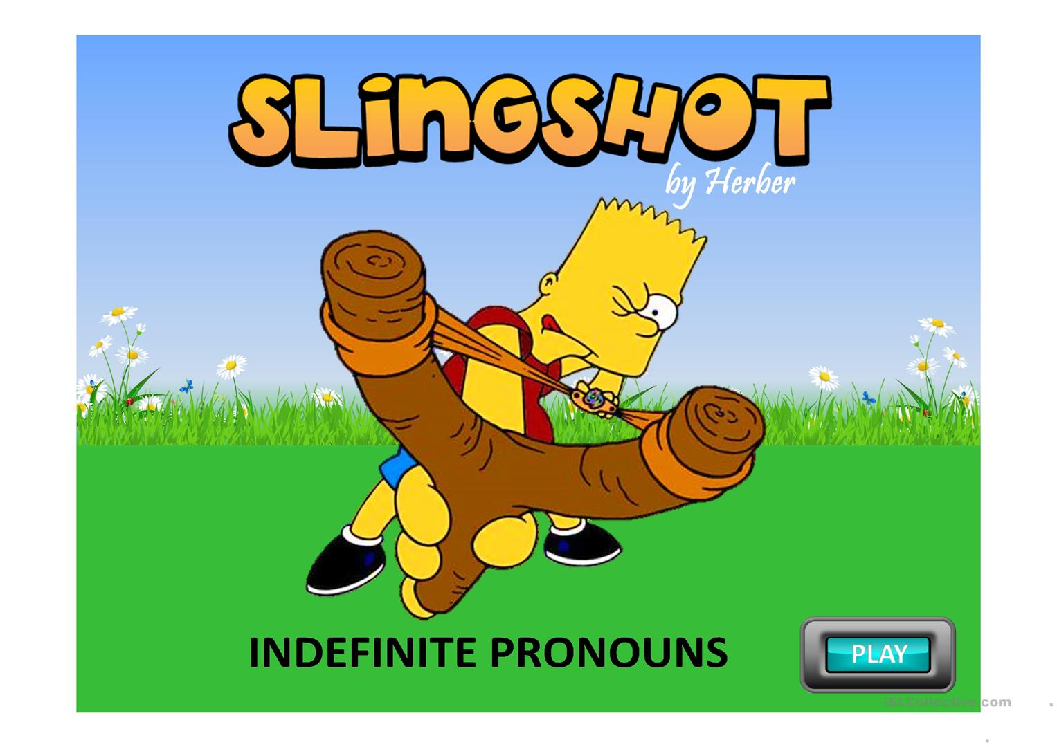 Slingshot Indefinite Pronouns