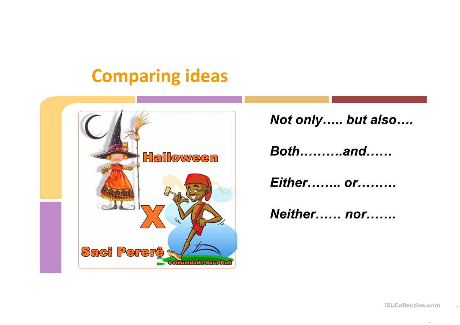 Either Or Neither Nor Not Only But Also Both And Worksheet
