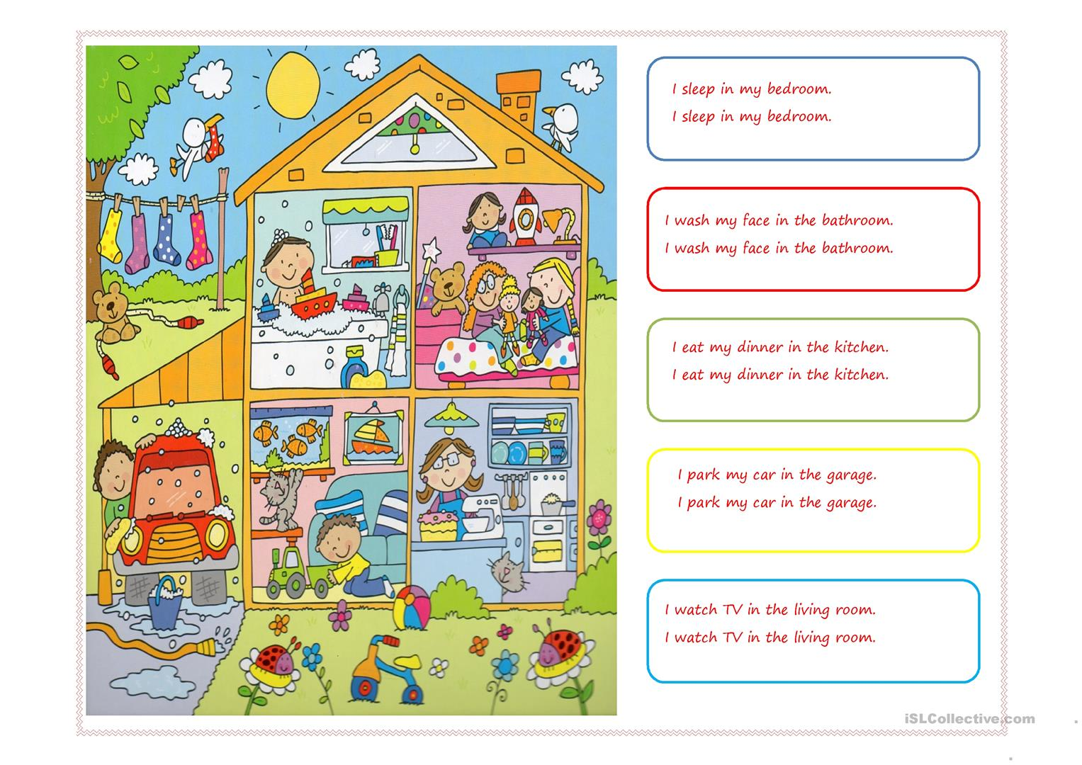 At Home Worksheet