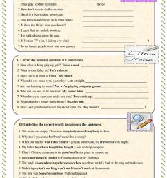 Find and correct mistakes Test - English ESL Worksheets for distance  learning and physical classrooms [ 1079 x 763 Pixel ]