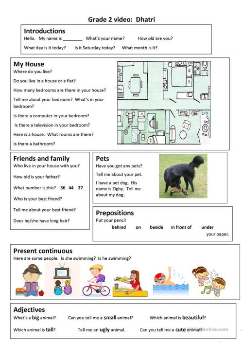 small resolution of English ESL grade 2 worksheets - Most downloaded (44 Results)