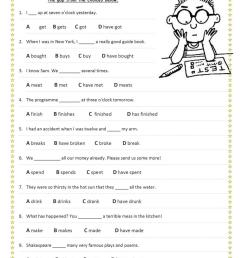Mixed Verb Tenses - English ESL Worksheets for distance learning and  physical classrooms [ 1079 x 763 Pixel ]