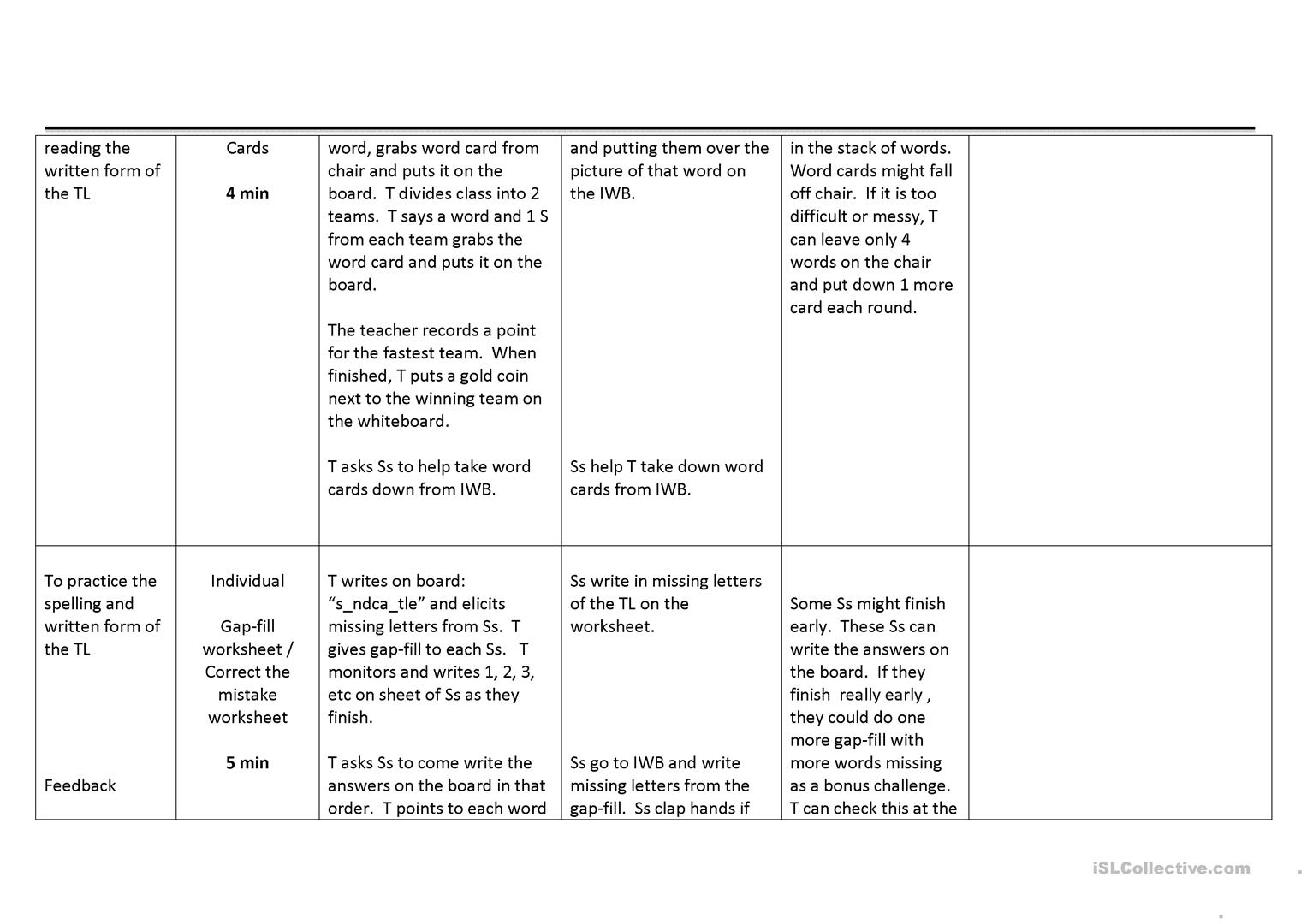 Lesson Plan For Beach Lexis And Spot The Difference Materials Worksheet