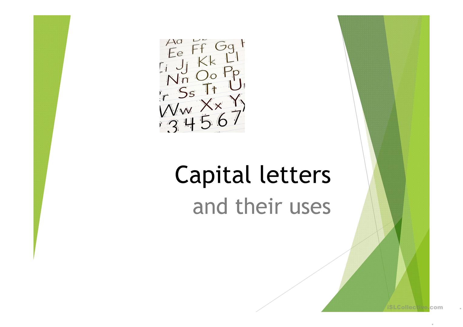Capital Letters Full Stops And Question Marks