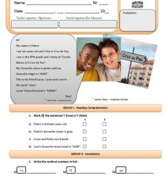 5th grade English Test - English ESL Worksheets for distance learning and  physical classrooms [ 1079 x 763 Pixel ]