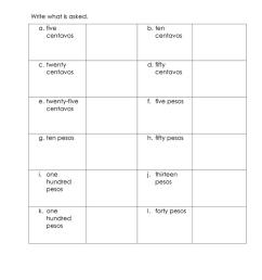 Money Worksheet-Philippines - English ESL Worksheets for distance learning  and physical classrooms [ 1079 x 763 Pixel ]