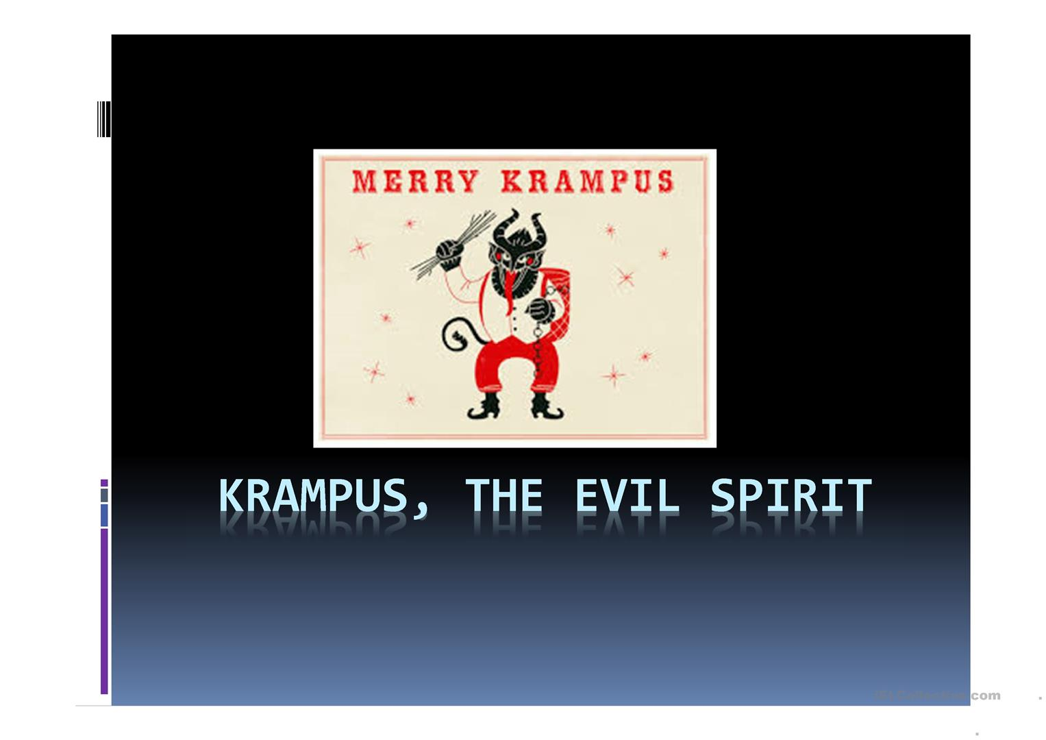 Krampus Worksheet