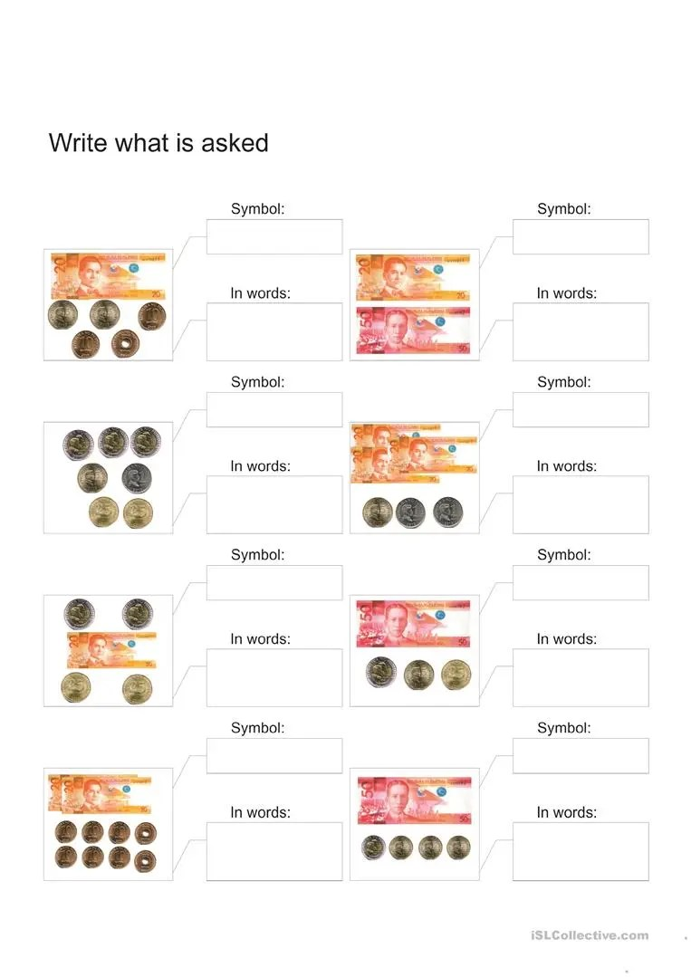 hight resolution of philippine money 4 - English ESL Worksheets for distance learning and  physical classrooms