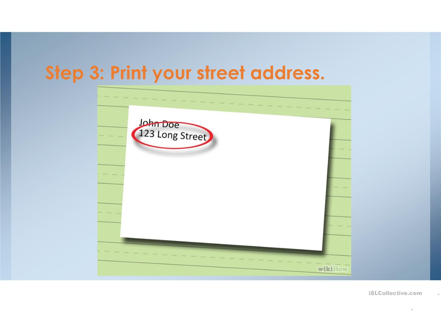 How To Label An Envelope