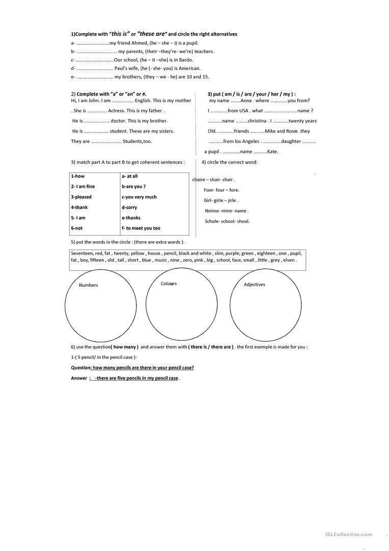hight resolution of review for the tunisian 6th grade - English ESL Worksheets for distance  learning and physical classrooms