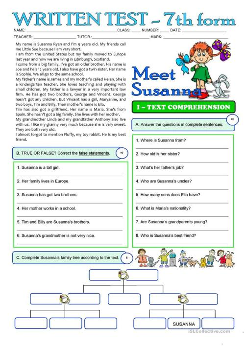 small resolution of English ESL grade 3 worksheets - Most downloaded (39 Results)