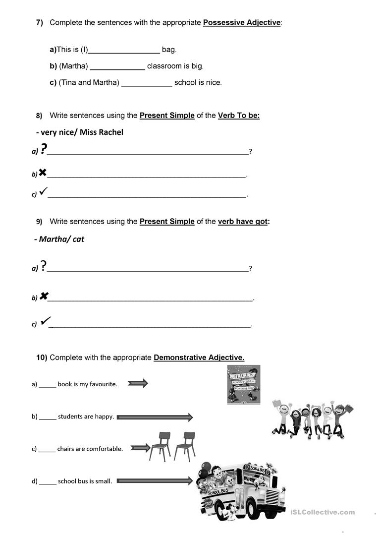 hight resolution of 5th form/ 5th grade English Test Classroom Objects/School places/ School  subjects - English ESL Worksheets for distance learning and physical  classrooms