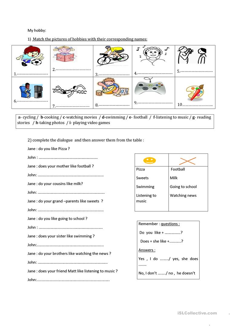 medium resolution of review for the tunisian 6th grade - English ESL Worksheets for distance  learning and physical classrooms