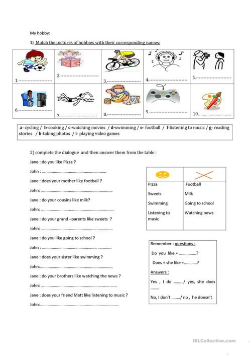 small resolution of review for the tunisian 6th grade - English ESL Worksheets for distance  learning and physical classrooms