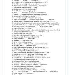 100 Mixed pronoun sentences - English ESL Worksheets for distance learning  and physical classrooms [ 1079 x 763 Pixel ]