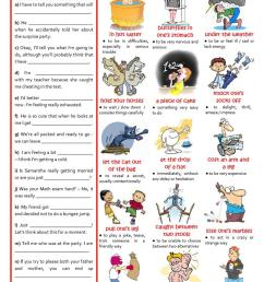 English ESL Idioms worksheets - Most downloaded (444 Results) [ 1079 x 763 Pixel ]