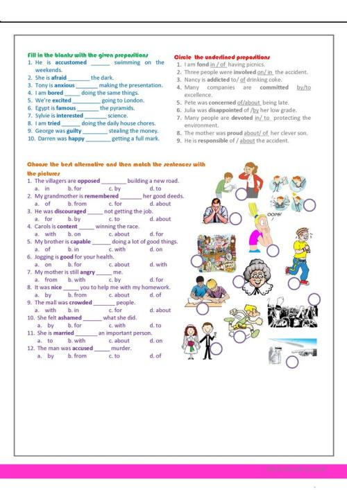 small resolution of revision for the 7th grade - English ESL Worksheets for distance learning  and physical classrooms