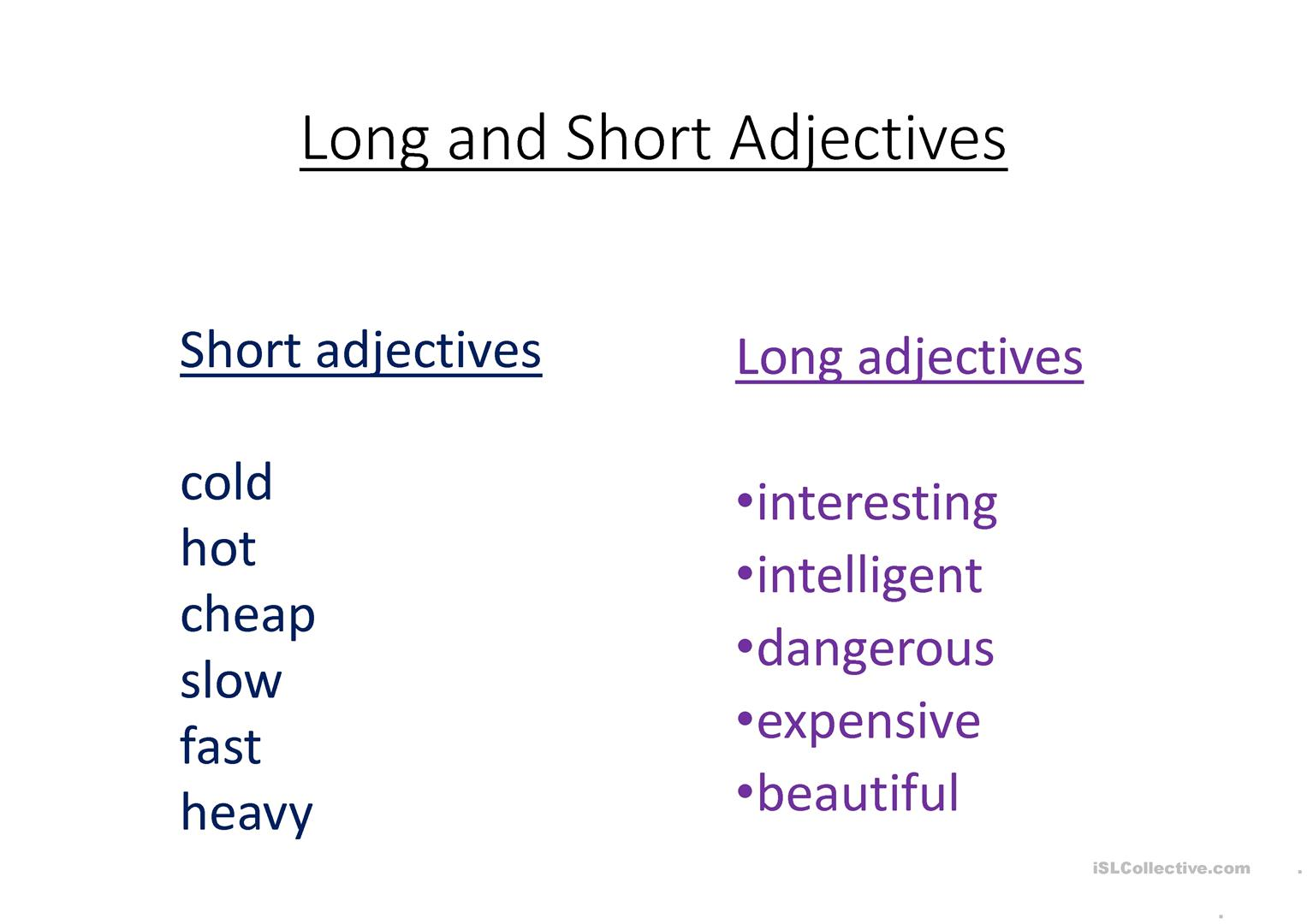 Short A And Long A Worksheet