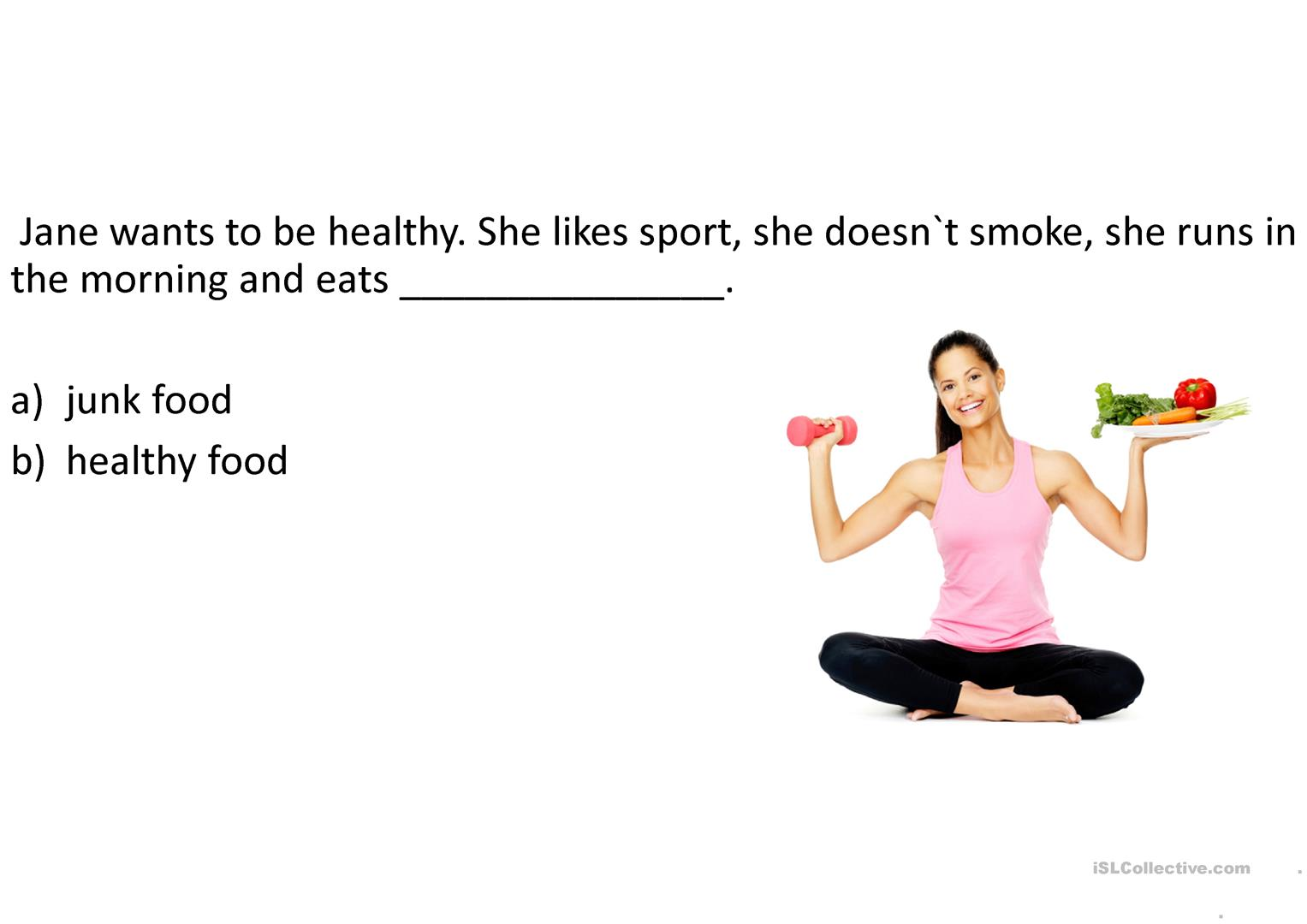 Eating Habits Questions