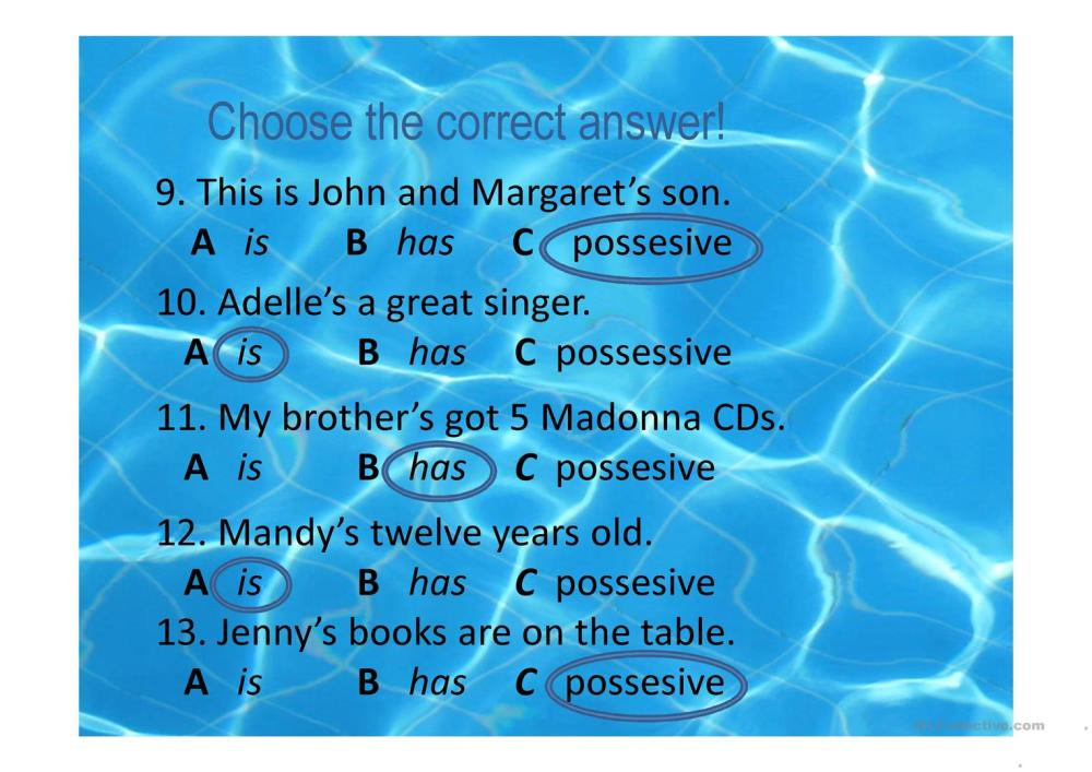 medium resolution of Possessive Apostrophe Worksheet   Printable Worksheets and Activities for  Teachers