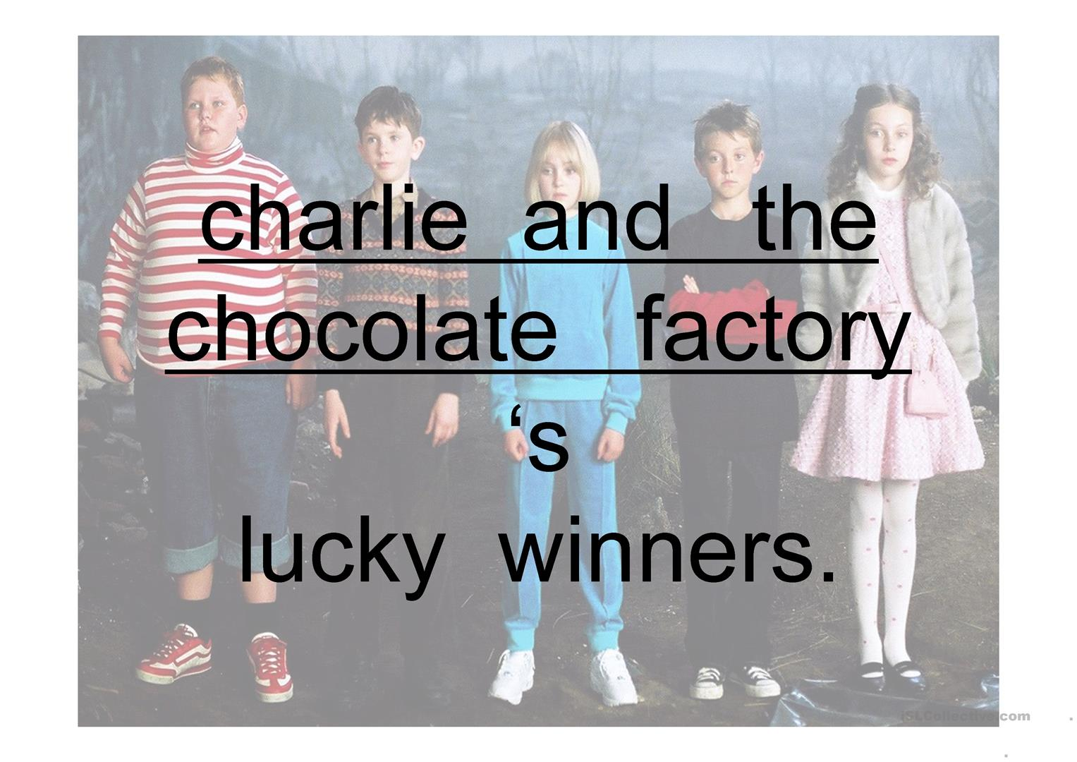 Ppt Comparison Charlie And The Chocolate Factory