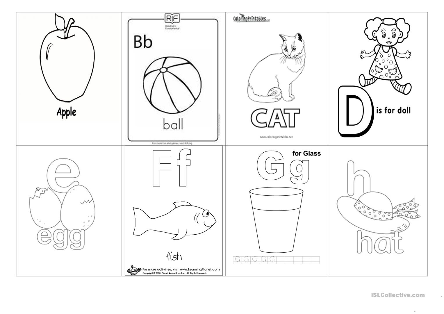 Abc Worksheet
