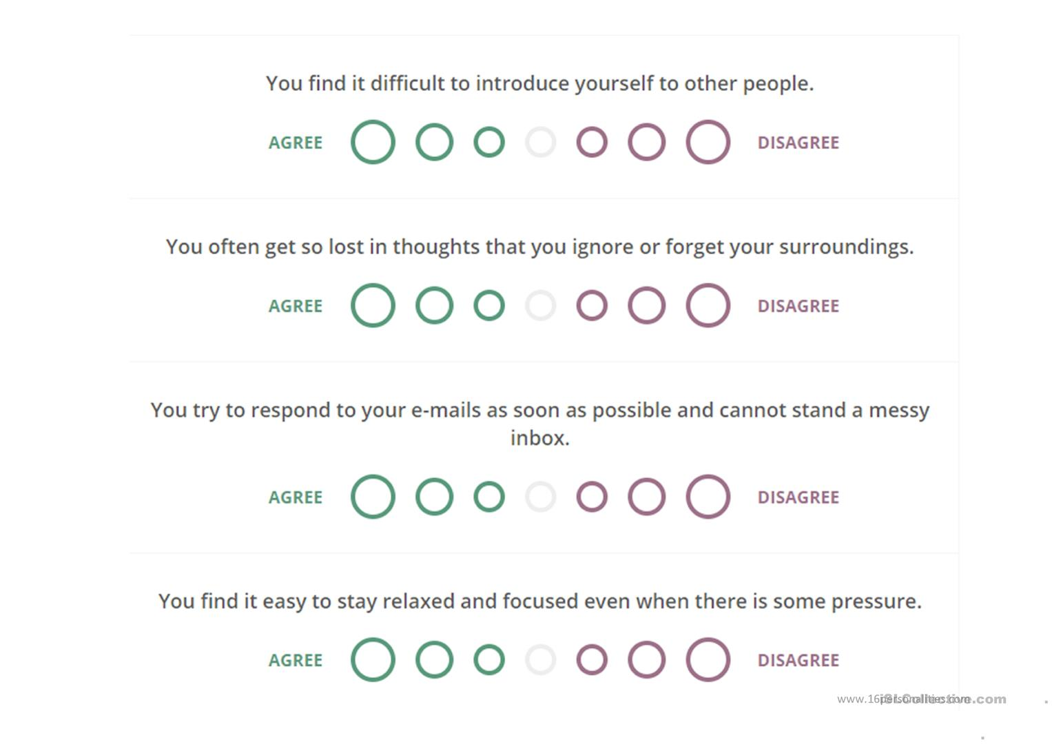 Personality Test Printable That Are Handy