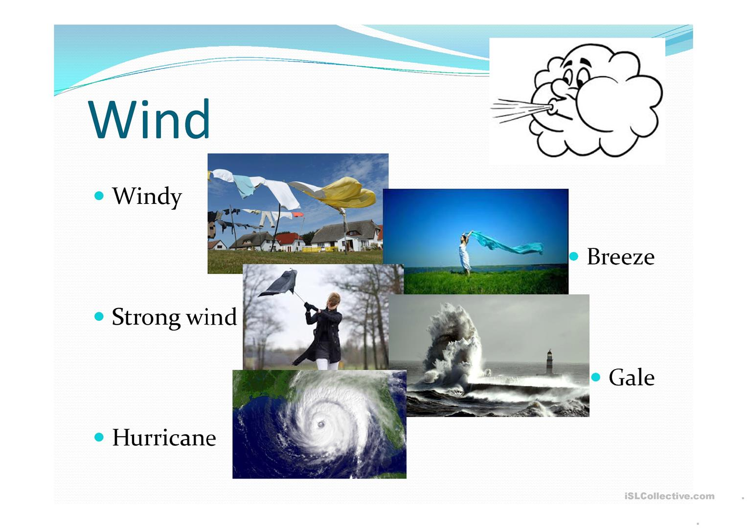 The Weather Vocabulary And Forecast Worksheet