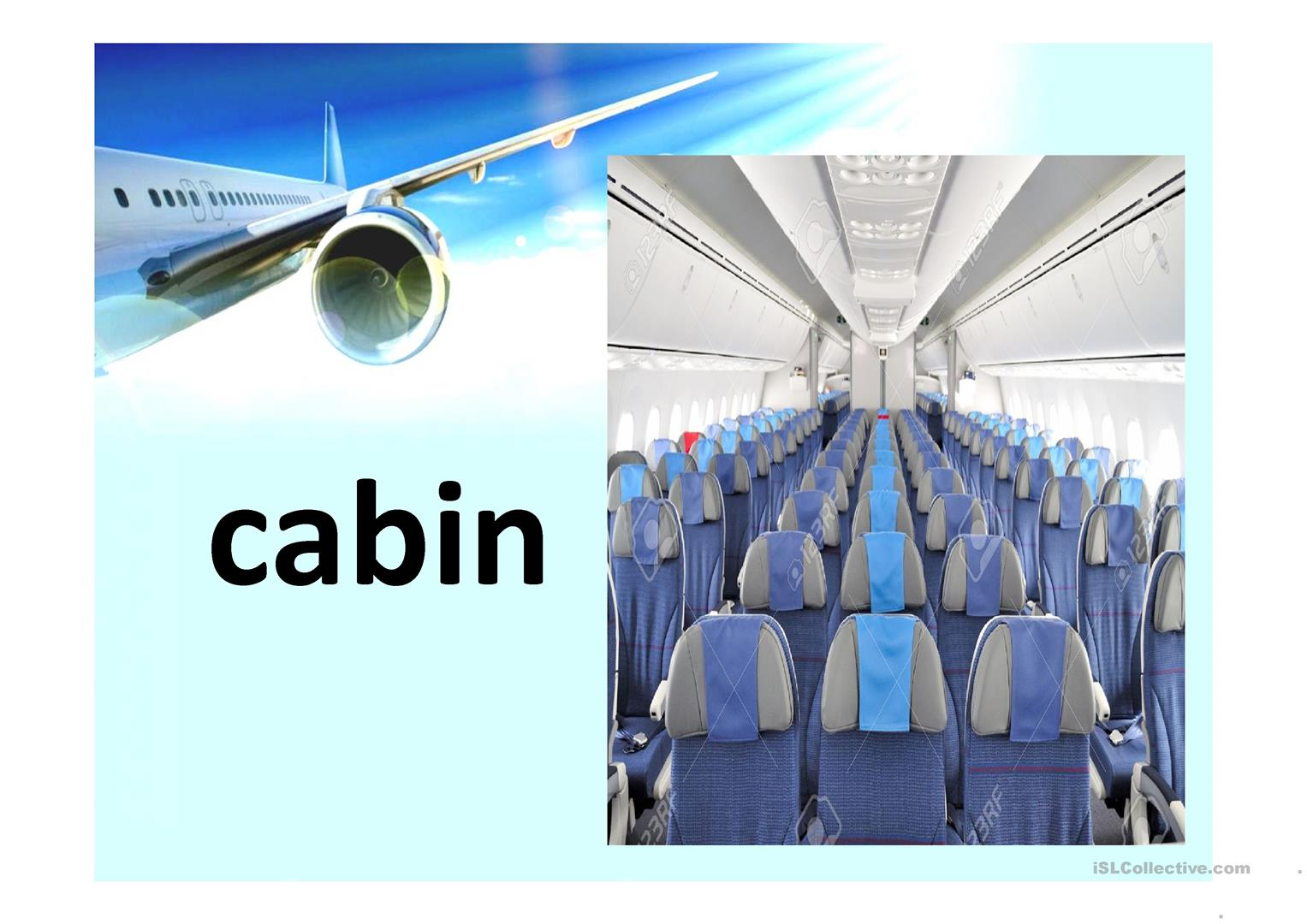 Airport Airline And Travel Vocabulary Worksheet