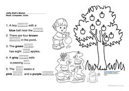 Teach child how to read: Jolly Phonics Reading Assessment