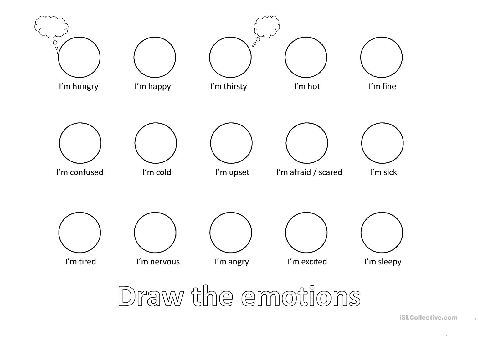 Draw Emotion And Feeling