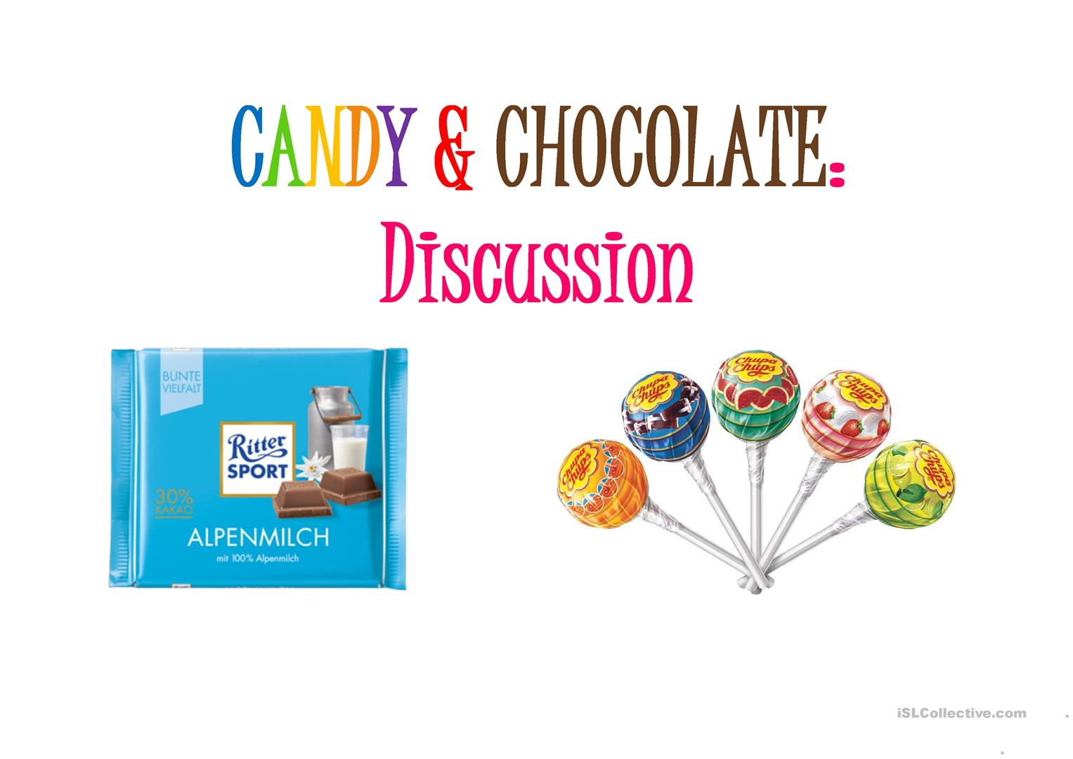 Candy Amp Chocolate Discussion