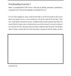 Proofreading WS - English ESL Worksheets for distance learning and physical  classrooms [ 1079 x 763 Pixel ]