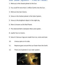 Solar System Quiz - True or False? - English ESL Worksheets for distance  learning and physical classrooms [ 1079 x 763 Pixel ]