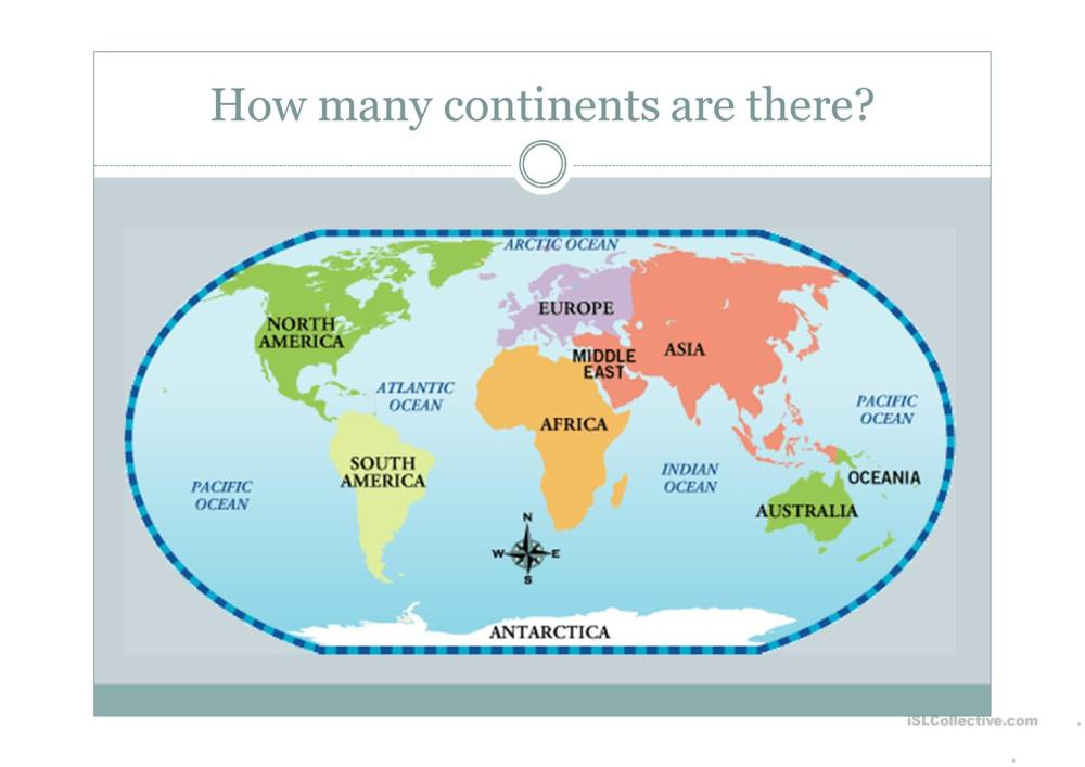 medium resolution of Continents - English ESL Powerpoints for distance learning and physical  classrooms