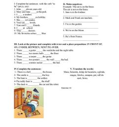 3rd grade test - English ESL Worksheets for distance learning and physical  classrooms [ 1079 x 763 Pixel ]