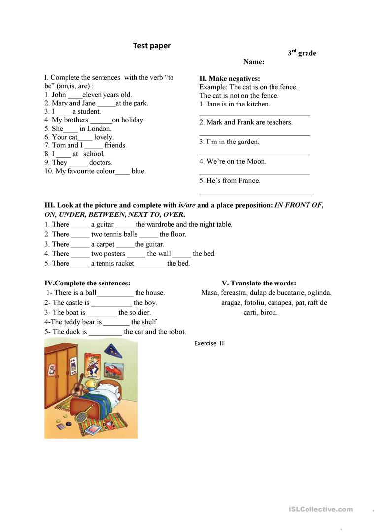 medium resolution of 3rd grade test - English ESL Worksheets for distance learning and physical  classrooms