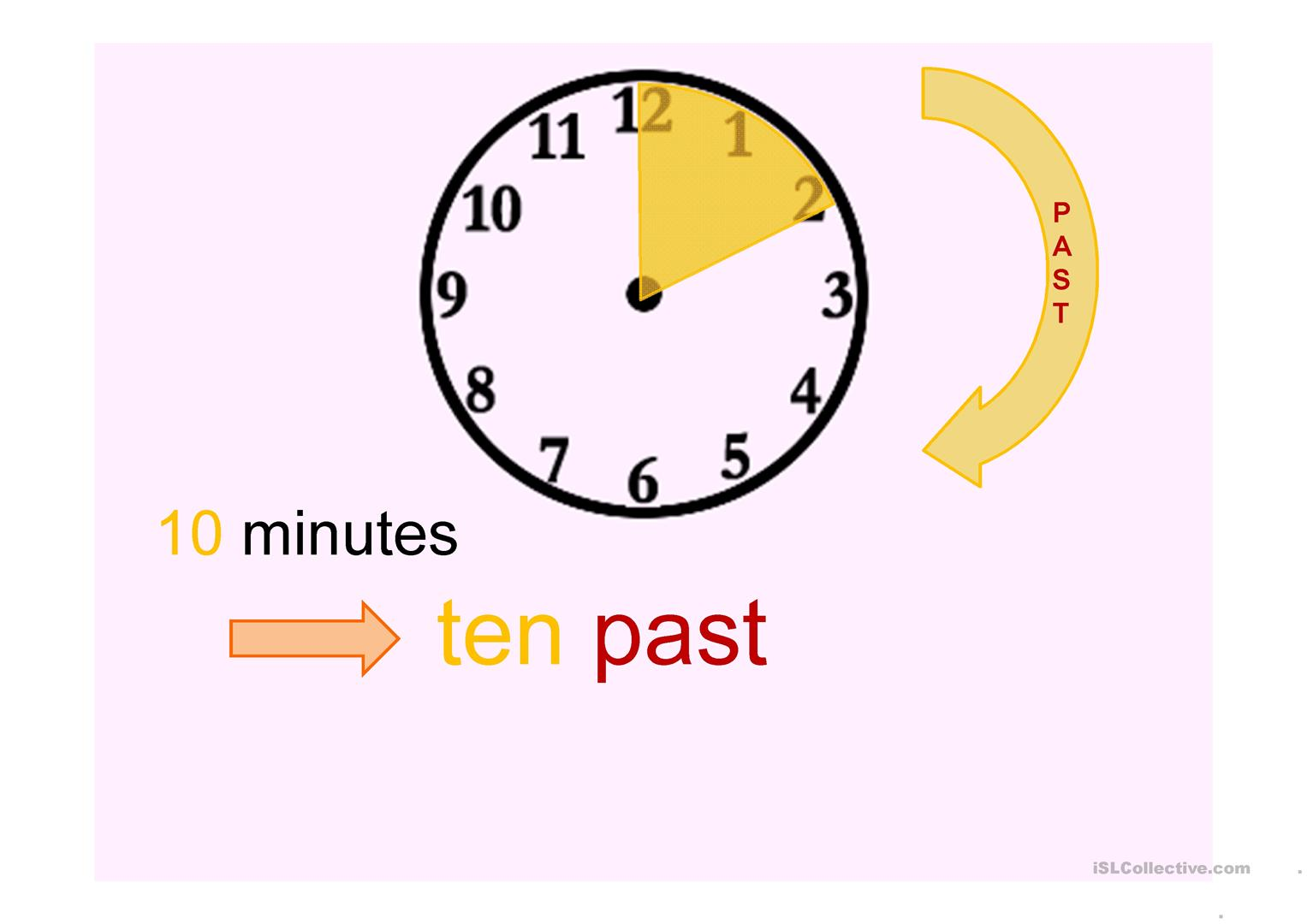 Telling The Time Lesson