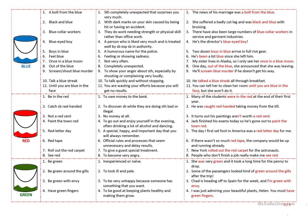 medium resolution of English Idioms Worksheet   Printable Worksheets and Activities for  Teachers