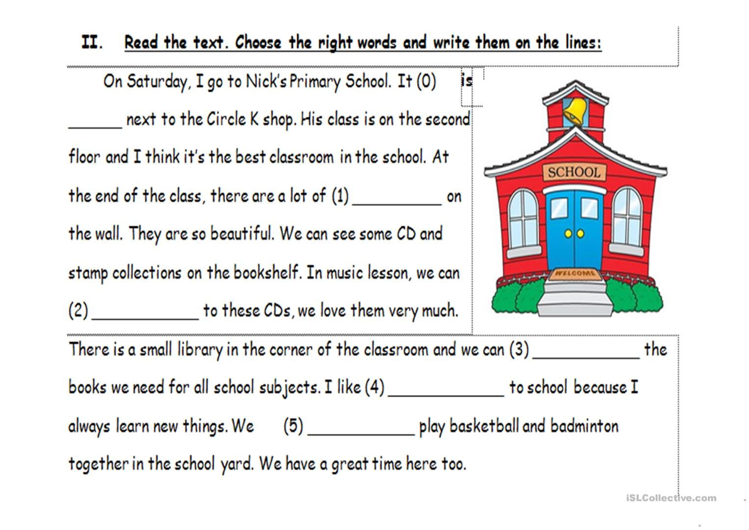 Family And Friends 4 Worksheet