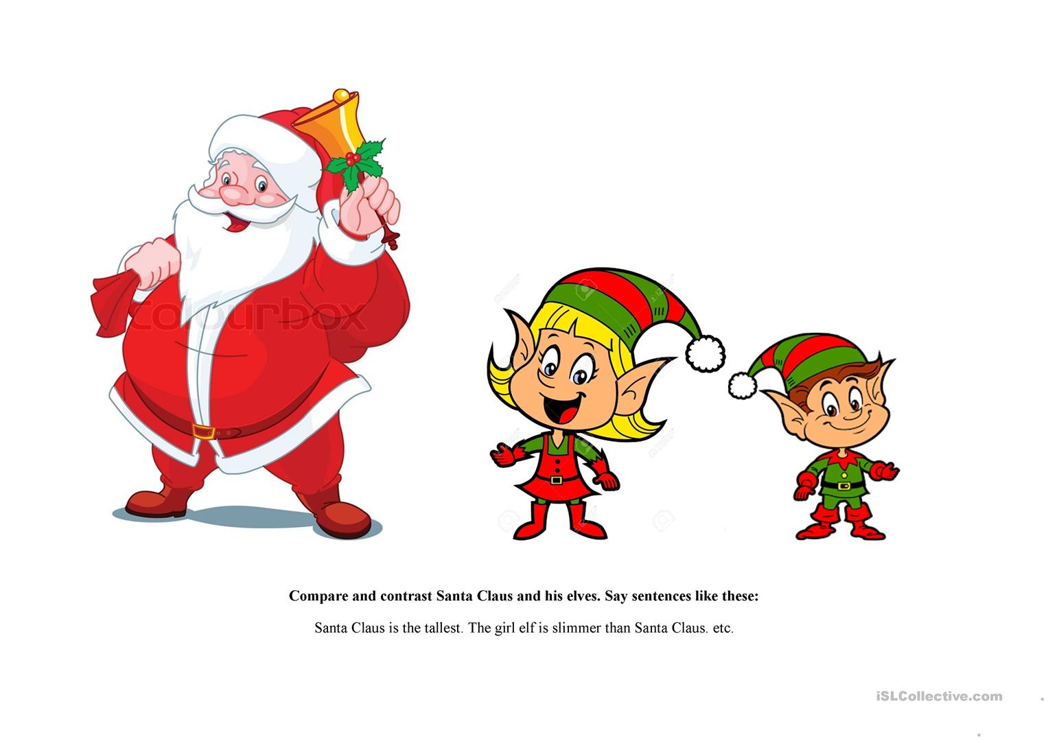 Royalty Free Santa Claus Worksheets