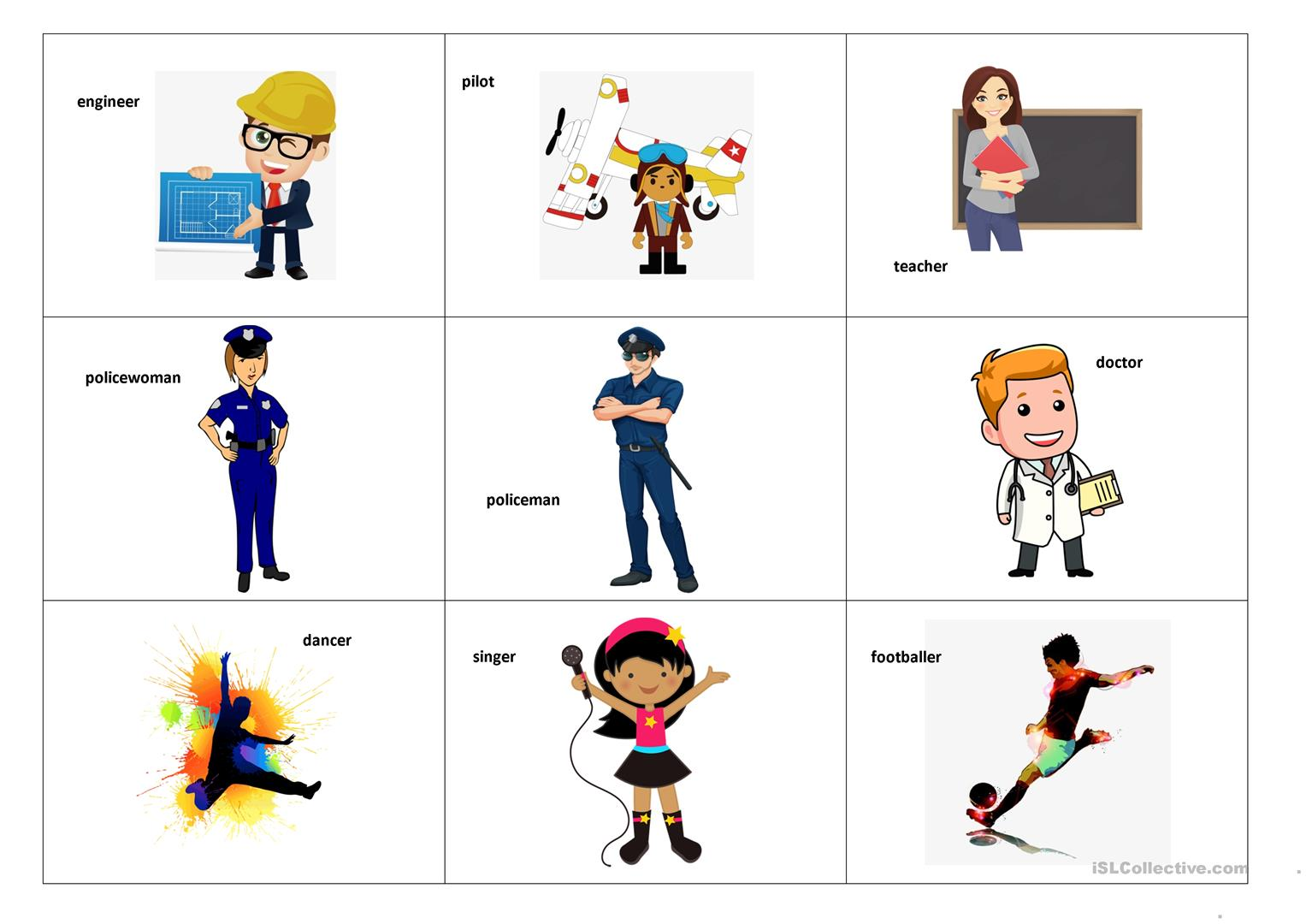 Professions Flashcards